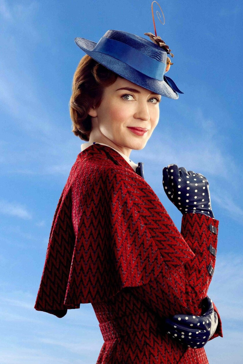 """How """"Mary Poppins Returns"""" star Emily Blunt and director Rob Marshall aimed to make a 'joybomb on the soul'"""