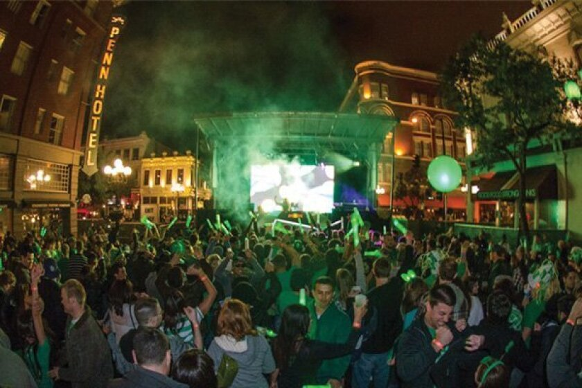 2012 ShamROCK in downtown San Diego -- DiscoverSD
