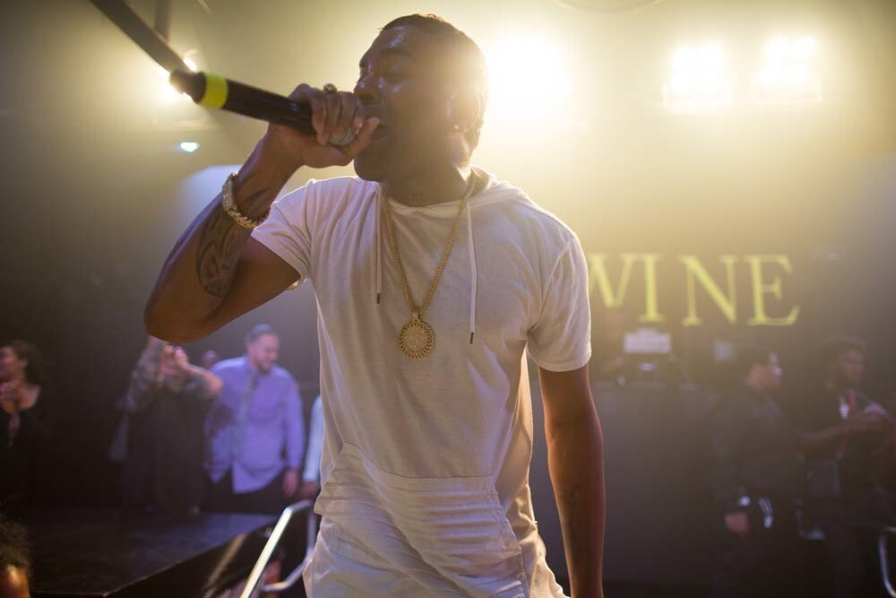 Singer Ginuwine rocked the stage during an appearance at Fluxx Nightclub on Saturday, July 28, 2018.