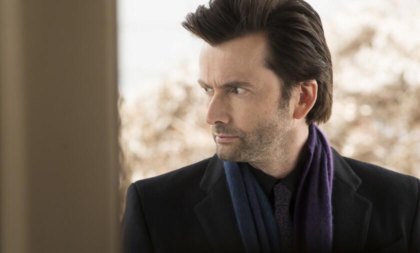"David Tennant plays Kilgrave on Marvel's latest television venture, ""Jessica Jones."""