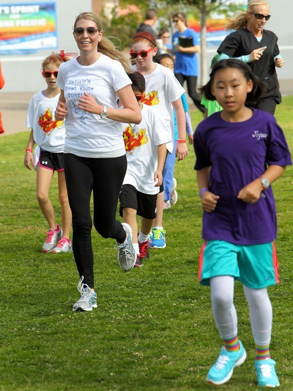 Students participated in the annual Sandpiper Sprint