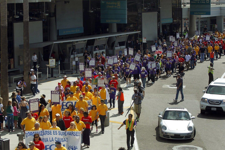 Chavez march