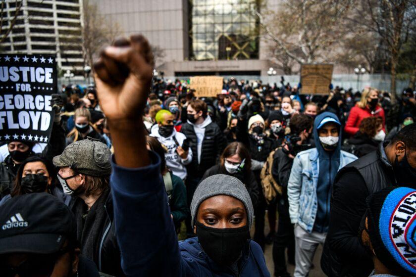 People react to the verdict in Minneapolis.