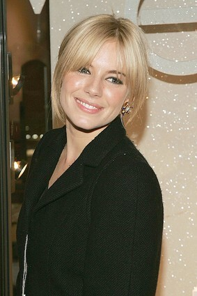 Sienna Miller Hosts Cartier Holiday Bow Celebration