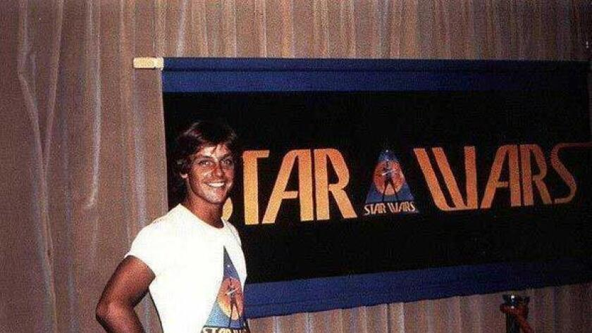 Mark Hamill at Comic-Con San-Diego in 1976 (/ @_Nebuleuz_)