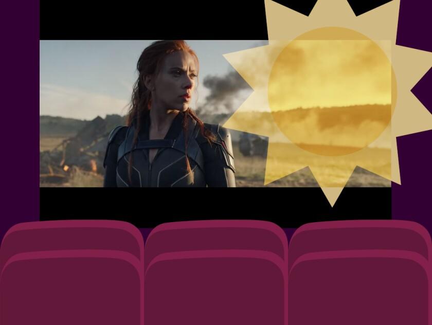 "Scarlett Johansson as Natasha Romanoff, a.k.a. Black Widow, in Marvel's ""Black Widow."""