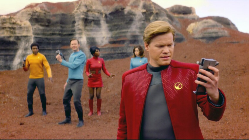 "This image released by Netflix shows Jesse Plemons in a scene from ""Black Mirror."" Plemons was nomin"