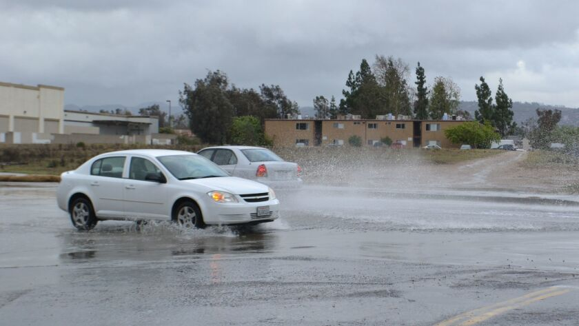 Ramona receives 1.05 inches of rain.