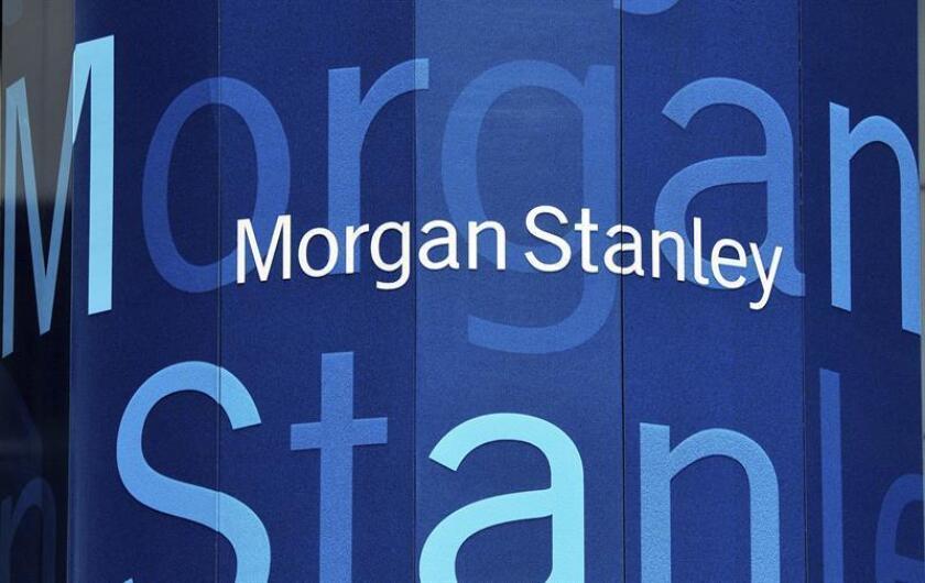 El grupo financiero Morgan Stanley anunció hoy una disminución del 2 % en sus beneficios netos de 2016, aunque la ganancia del último trimestre del año fue la mayor en una década. EFE/ARCHIVO