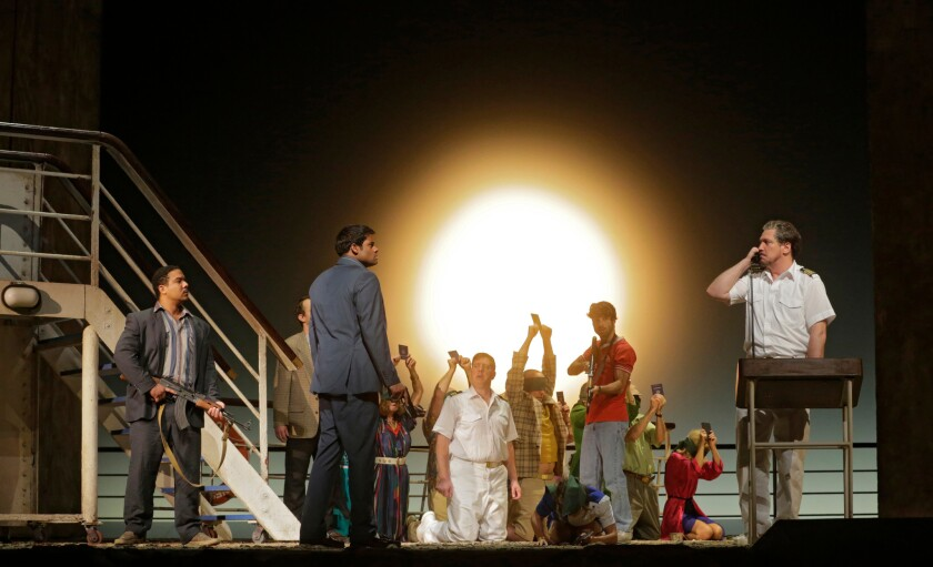 """The Death of Klinghoffer"" in an image released by Metropolitan Opera from its production in New York."