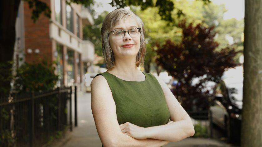 BROOKLYN, NEW YORD--JULY 1, 2018--Writer Sue Landers is the new executive director of Lambda Literar
