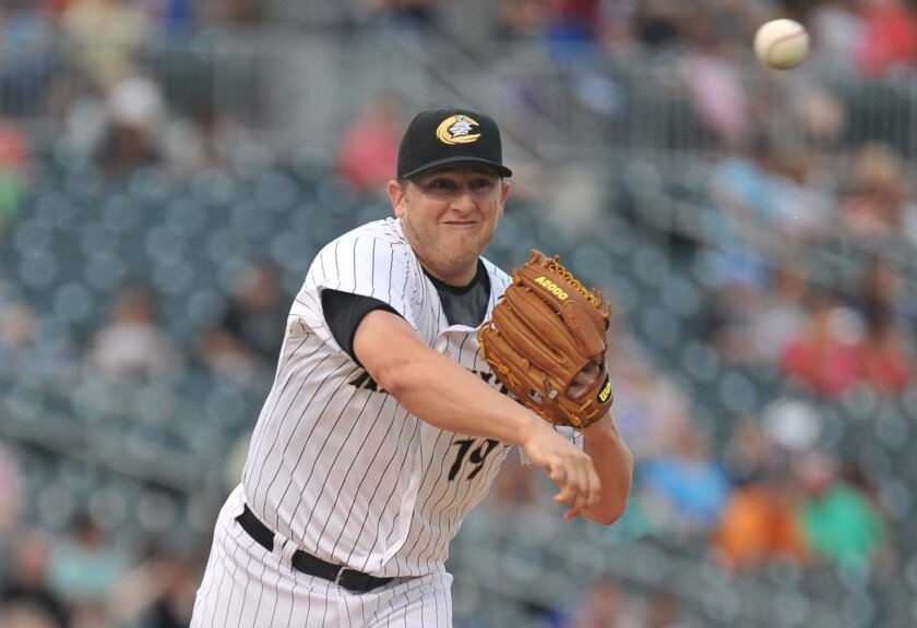 The Padres plucked right-hander Blake Smith from the White Sox in the second round of the Rule V draft in December 2015.