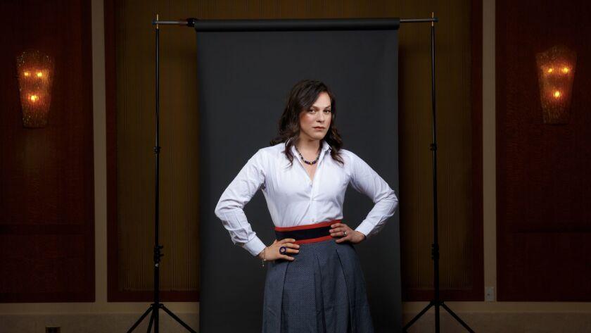 "Chilean actress Daniela Vega stars in the Chilean Oscar nominee, ""Una Mujer Fantastica"" (A Fantastic Woman)."