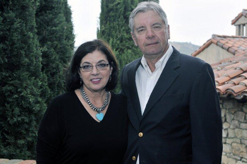 Shed A Light Foundation co-founders Sheryl and Jim Bohlander