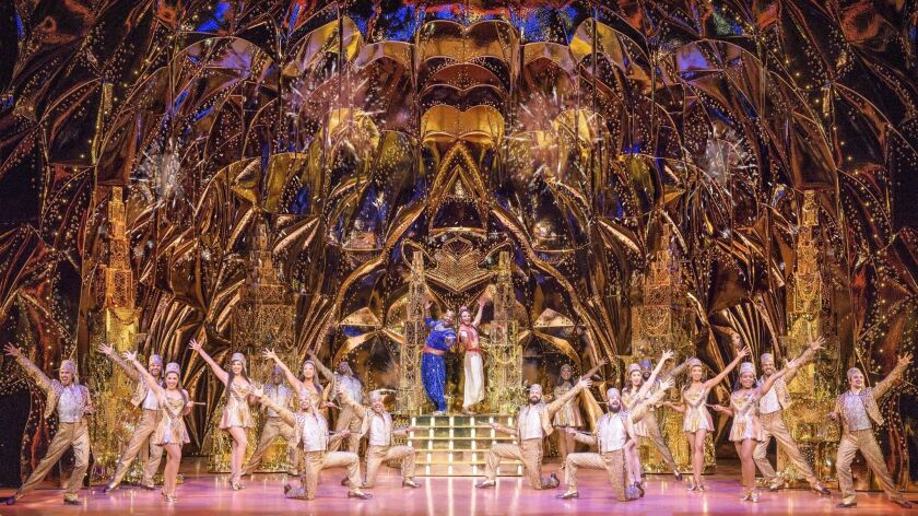 Disney Theatrical Productions under the direction of Thomas Schumacher presents Aladdin, the US tour