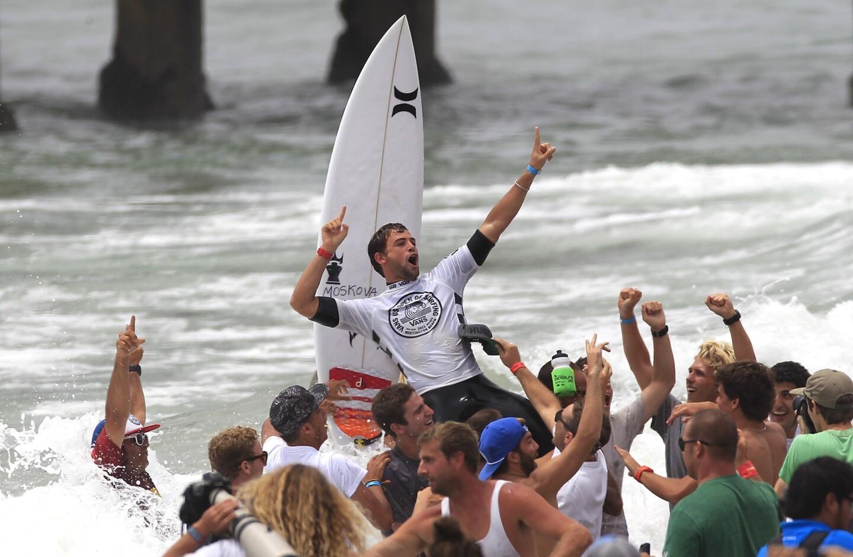 Alejo Muniz celebrates his win
