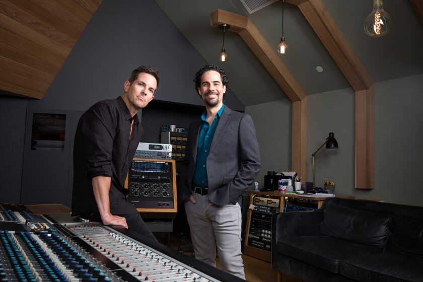 Steven Gizicki and Alex Lacamoire