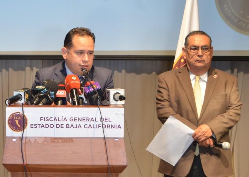El fiscal central, Hiram Sánchez anuncia cargos contra presunta responsable de accidente en la Vía Rápida