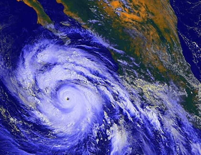 To date, Hurricane Linda is the largest hurricane that's ever developed in the eastern Pacific Ocean.