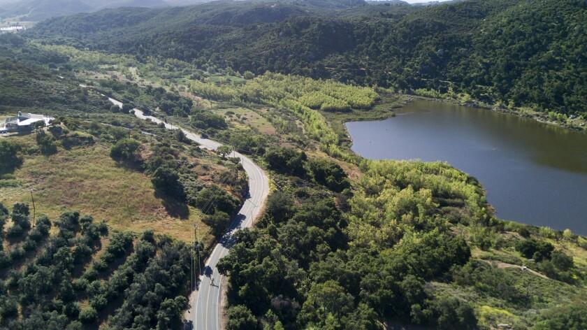 Lake Wohlford Dam