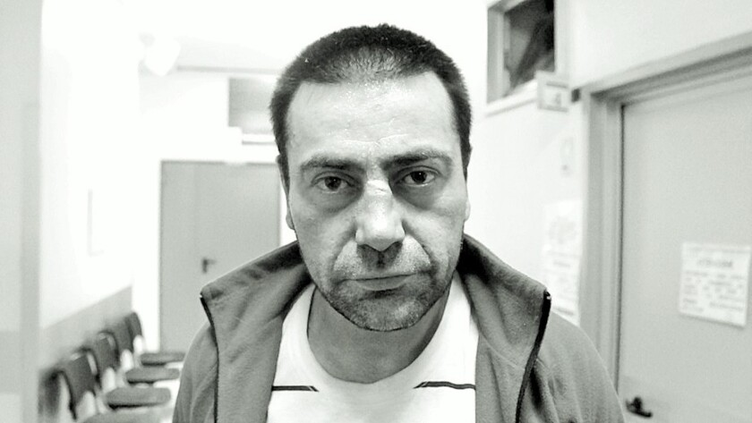 """Emanuel, one of the homeless residents of Turin, Italy, is featured in the documentary """"Al Di Qua."""""""
