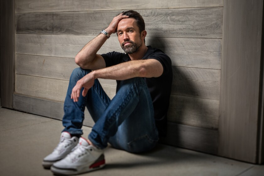 """""""Mythic Quest: Raven's Banquet"""" actor, writer and producer Rob McElhenney."""