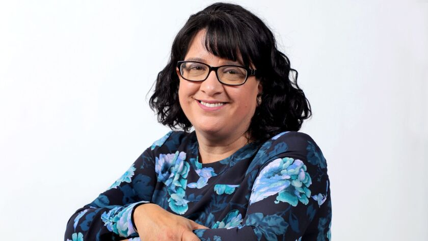 Portrait of Konane Martinez. She is an applied medical anthropologist and chair of the anthropology department at California State University, San Marcos.