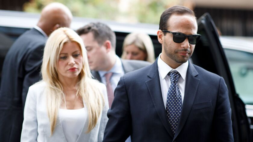 Mueller says Papadopoulos should be jailed Nov. 26 as scheduled