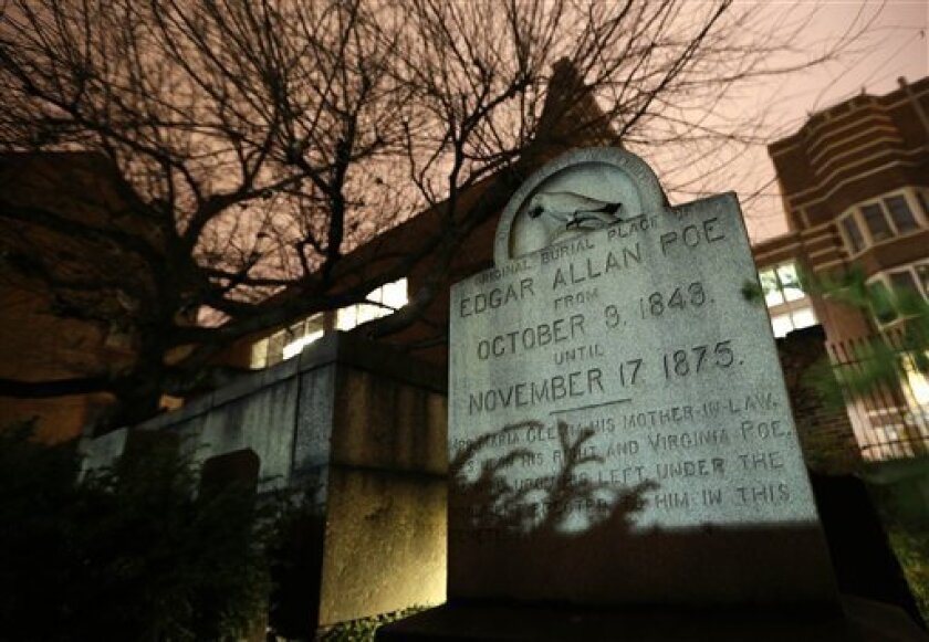Poe visitor comes nevermore, yet mystery lingers - The San