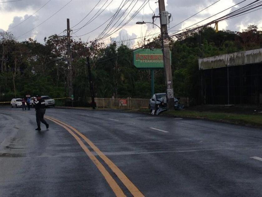 Al menos cuatro personas han muerto en las vías de tránsito en Puerto Rico durante el fin de semana, informó hoy la Policía. EFE/ARCHIVO