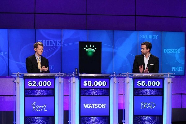 """The battle for mankind's future is happening now. Not in the city streets or on the edges of outer space, but in a Hollywood soundstage, where """"Jeopardy!"""" champions Ken Jennings and Brad Rutter are playing against IBM's advanced question-answering system known as Watson. Will the humans triumph over machine, or will Watson run roughshod over the game-show contestants, host Alex Trebek and eventually the world? History, or at least film and video game history, teaches us that match-ups between humans and computers don't always go so well for humans. What do we need to know before it's too late to stop Watson? A few tips, hard-earned by the humans in the following films and video games."""