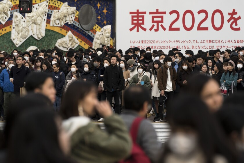 Tokyo governor: 'Inappropriate' to suggest moving 2020 Olympics because of coronavirus