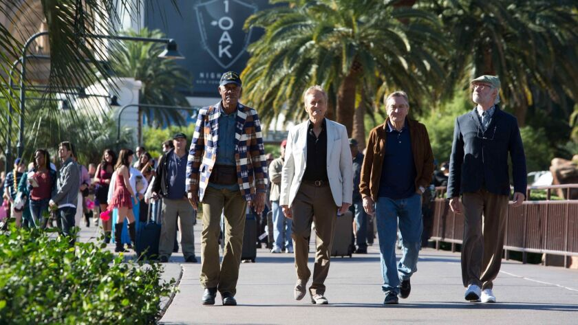 Morgan Freeman (as Archie Clayton), Michael Douglas (as Billy Gherson), Robert De Niro (as Paddy Con
