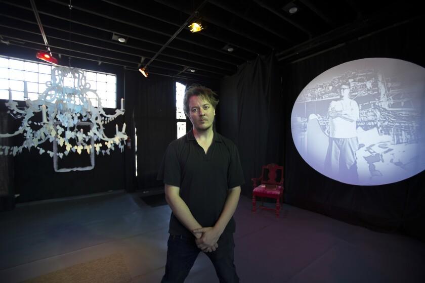 Being Ernest Shackleton by Jim Ovelmen