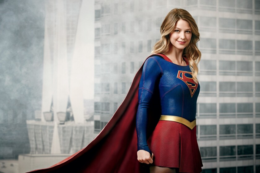 Melissa Benoist es Super Girl