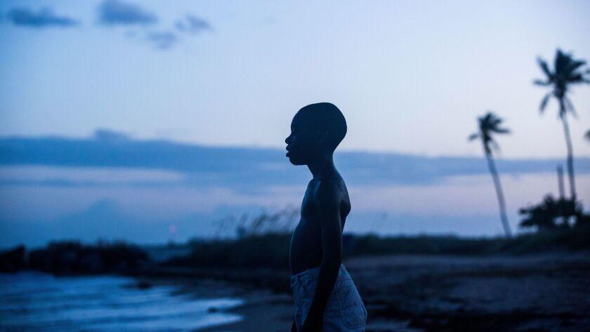 "Alex Hibbert in a scene from the film, ""Moonlight."""