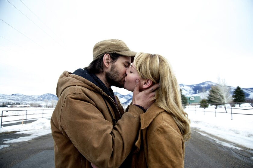"Ben Barnes and Katherine Heigl in ""Jackie & Ryan Gusmano Cesaretti"