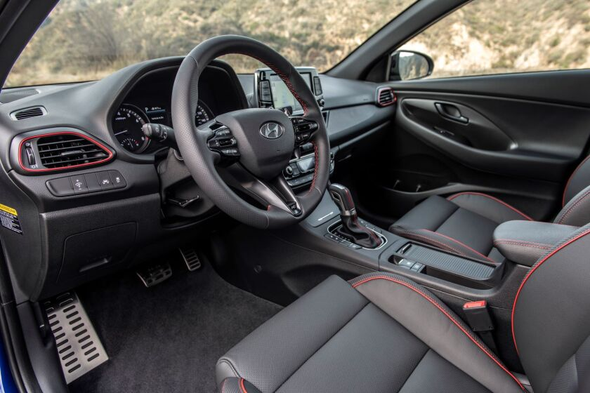 hyundai elantra gt n line enticing and eager the san diego union tribune hyundai elantra gt n line enticing and