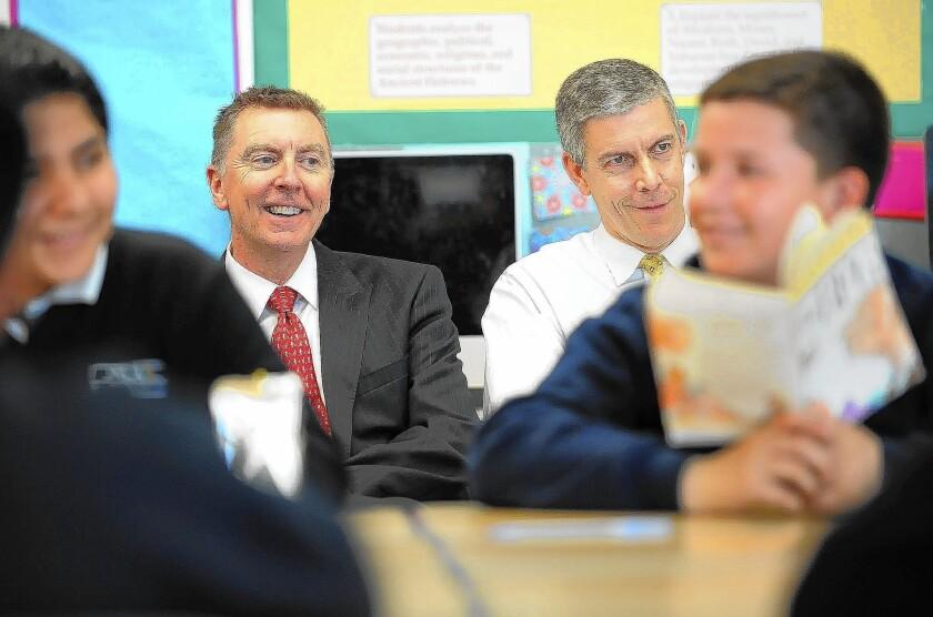 U.S. Education Secretary praises L.A. program