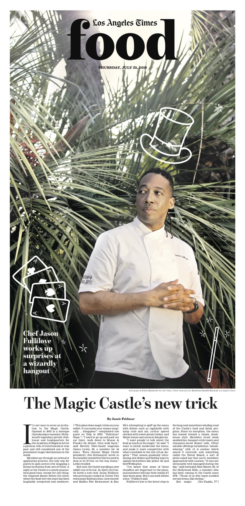 Los Angeles Times Food cover, July 25, 2019