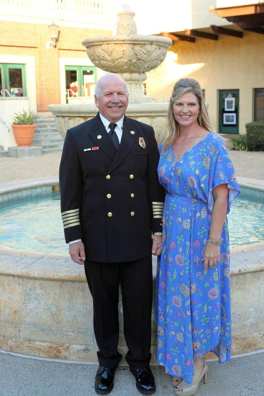 Welcome reception held for new RSF Fire Chief