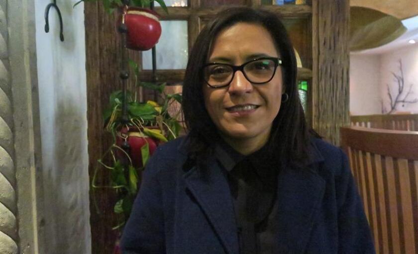 La directora ejecutiva de la Federación Mexicana de Diabetes, Gisela Ayala, posa en entrevista con Efe hoy, en Ciudad de México (México). EFE