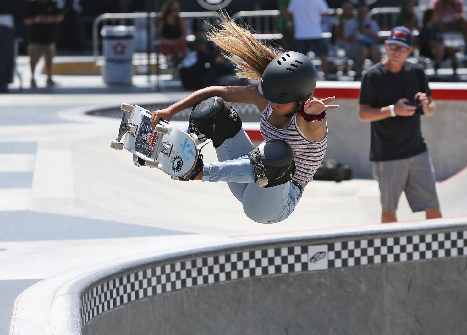 Skateboarding stars roll into Huntington Beach for regional tournament