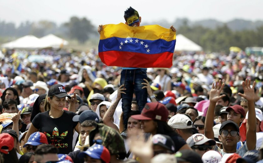 APphoto_Colombia Venezuela Political Crisis