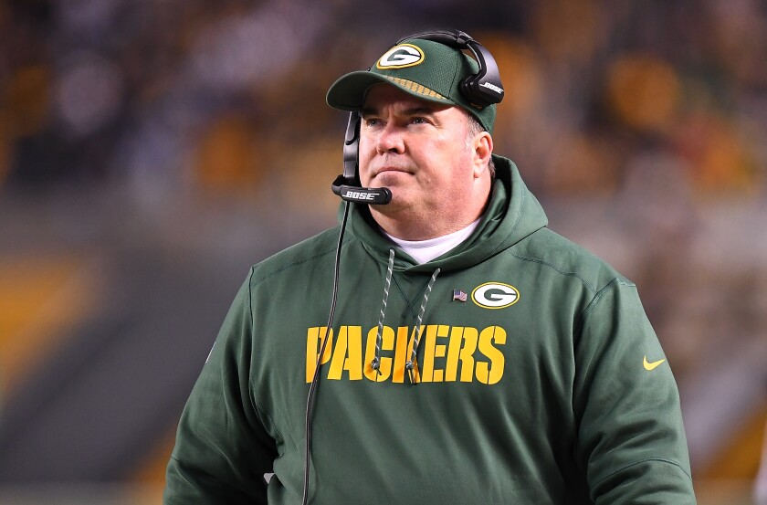 Mike Mccarthy S Bold Style Might Make Him A Fit For Cowboys Los Angeles Times