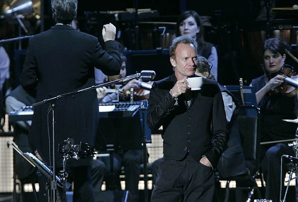 """Sting's """"Symphonicities"""" at Cricket Wireless"""