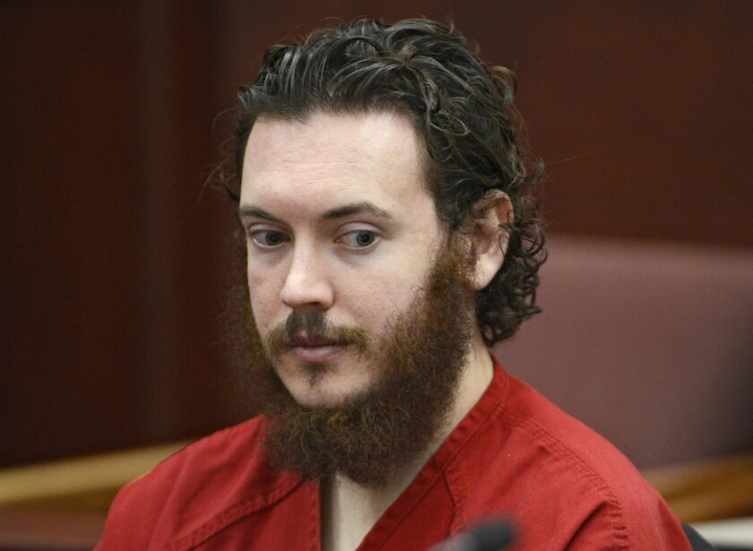 FILE - This June 4, 2013 file photo shows Aurora theater shooting suspect James Holmes in court in Centennial, Colo. On Thursday, July 16, 2015, a jury found Holmes guilty of murder in the methodically planned attack. The verdict means the 27-year-old former neuroscience graduate student could get