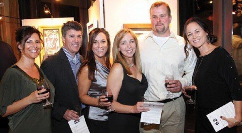 Tera Dean, Chris Wagner, Yvette Wagner, Jerie Laroche, David Laroche, Jodi Ochoa (Photo: Jon Clark)