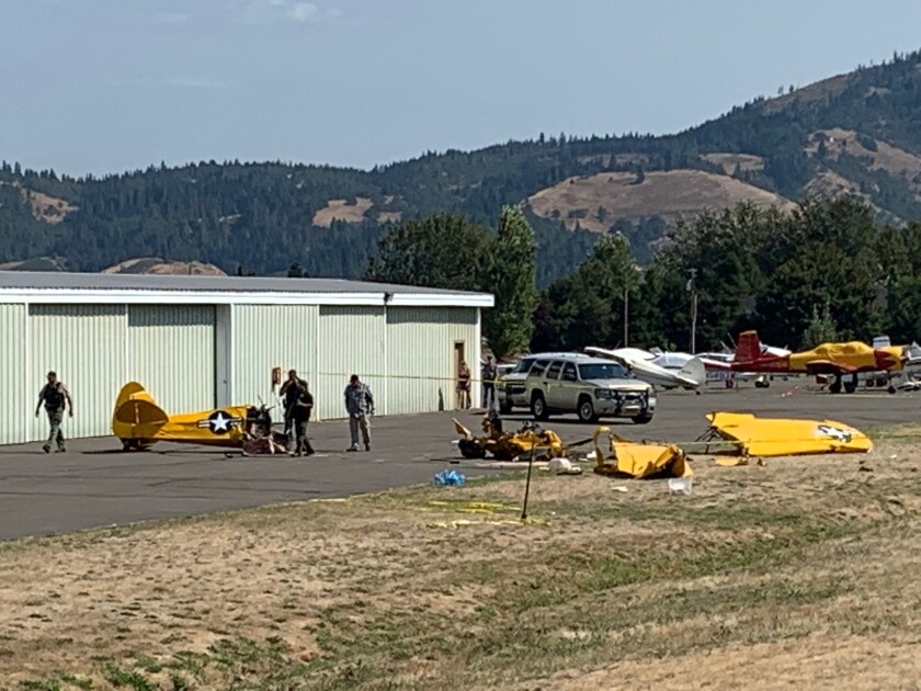 Plane crash kills as fly-in set to start in Oregon - The San