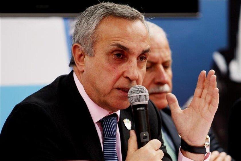 El presidente del Comité Olímpico Español, Alejandro Blanco (i). EFE/Archivo